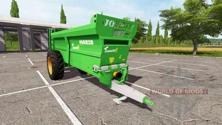 JOSKIN Tornado3 v2.0 para Farming Simulator 2017