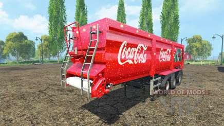 Krampe SB 30-60 Coca-Cola para Farming Simulator 2015