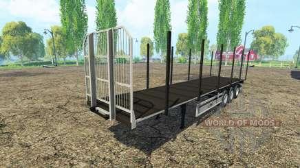 Multiuso semirremolque Fliegl v3.0 para Farming Simulator 2015
