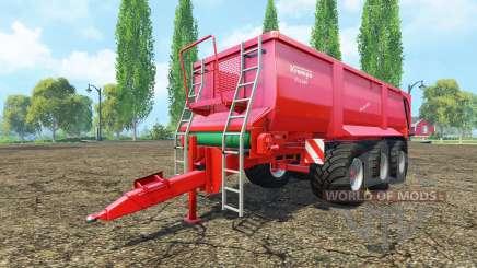 Krampe Bandit 800 v2.0 para Farming Simulator 2015