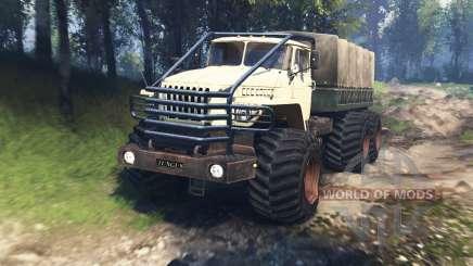 Ural 4320-10 de Tunguska v3.0 para Spin Tires