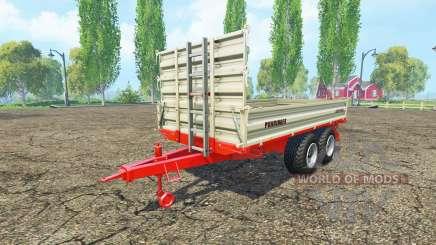 Puhringer bale trailer para Farming Simulator 2015
