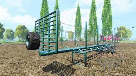 Una madera semi-remolque v1.1 para Farming Simulator 2015