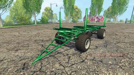 Zaccaria wood trailer para Farming Simulator 2015