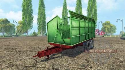 Silage Tandem Trailer para Farming Simulator 2015