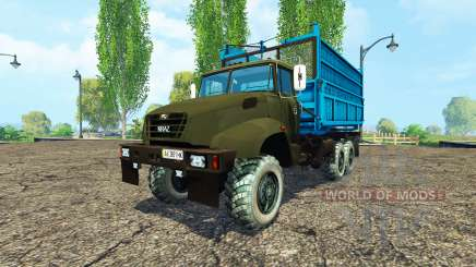 El KrAZ B18.1 agrícola apodo v1.1 para Farming Simulator 2015