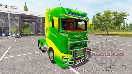 Scania R1000 John Deere para Farming Simulator 2017