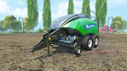 New Holland BigBaler 1290 gras bale v2.0 para Farming Simulator 2015