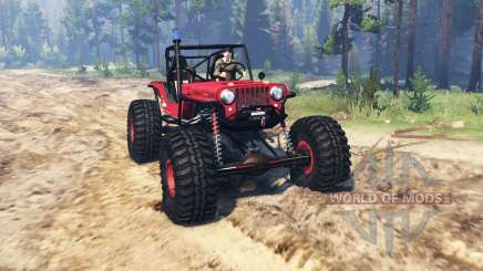 Jeep Willys CJ2A TTC para Spin Tires