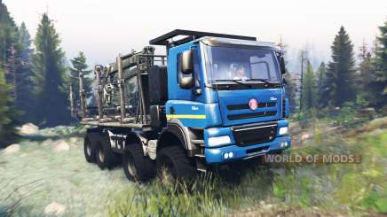 Tatra Phoenix T 158 8x8 v9.0 para Spin Tires