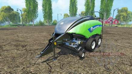 New Holland BigBaler 1290 gras bale v4.0 para Farming Simulator 2015
