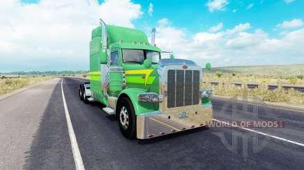 Las Líneas de la piel de 3 en el camión Peterbilt 389 para American Truck Simulator