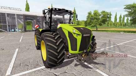 CLAAS Xerion 4500 v3.1 para Farming Simulator 2017