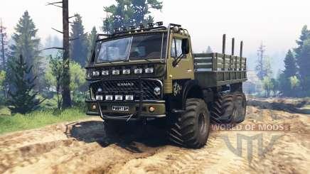 KamAZ 4310 Phantom v1.1 para Spin Tires