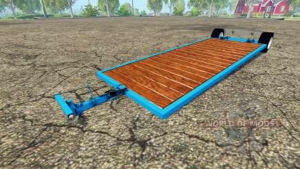 Low platform trailer v2.0 para Farming Simulator 2015