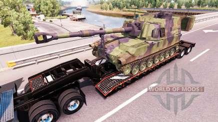 Semi llevar equipo militar v1.0.1 para American Truck Simulator