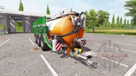 Kaweco 30000l orange para Farming Simulator 2017