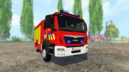 MAN TGM Belgian Fire Department para Farming Simulator 2015