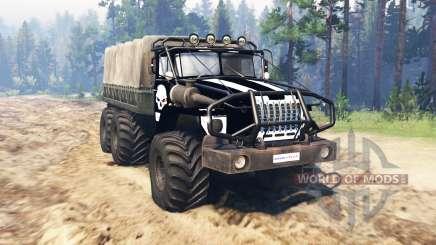 Ural 4320 OneShot v0.1 para Spin Tires