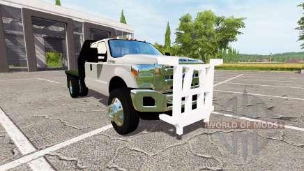 Ford F-550 v2.0 para Farming Simulator 2017