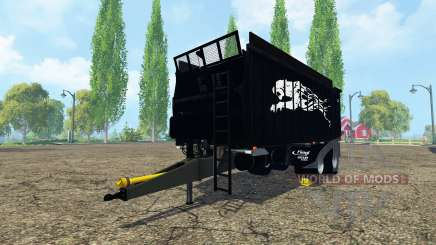 Fliegl ASW 268 black pantera para Farming Simulator 2015