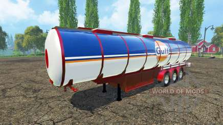 Combustible semi-remolque para Farming Simulator 2015