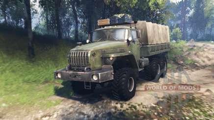 Ural 4320-31 v3.0 para Spin Tires