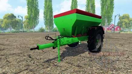 Unia MXL 7200 para Farming Simulator 2015