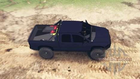 Dodge Ram 2500 2005 para Spin Tires