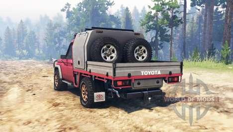 Toyota Land Cruiser 70 (J79) para Spin Tires