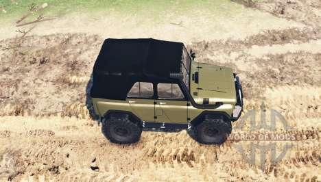 UAZ 469 v1 Fantasma.1 para Spin Tires