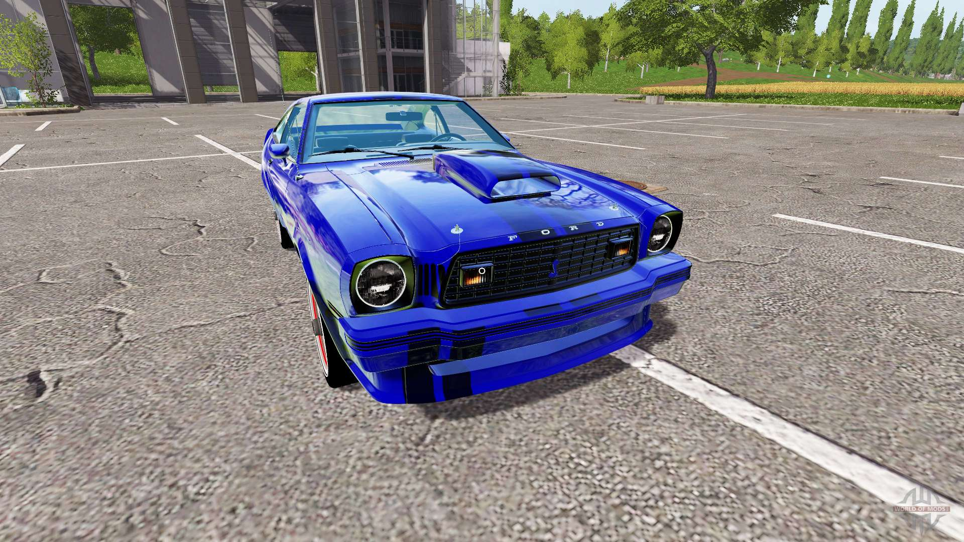 Ford Mustang Ii King Cobra 1978 Para Farming Simulator 2017