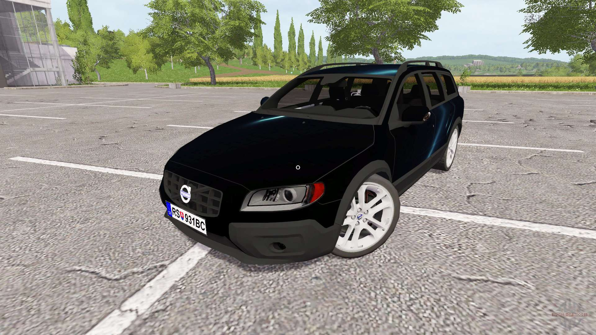 volvo xc70 para farming simulator 2017. Black Bedroom Furniture Sets. Home Design Ideas