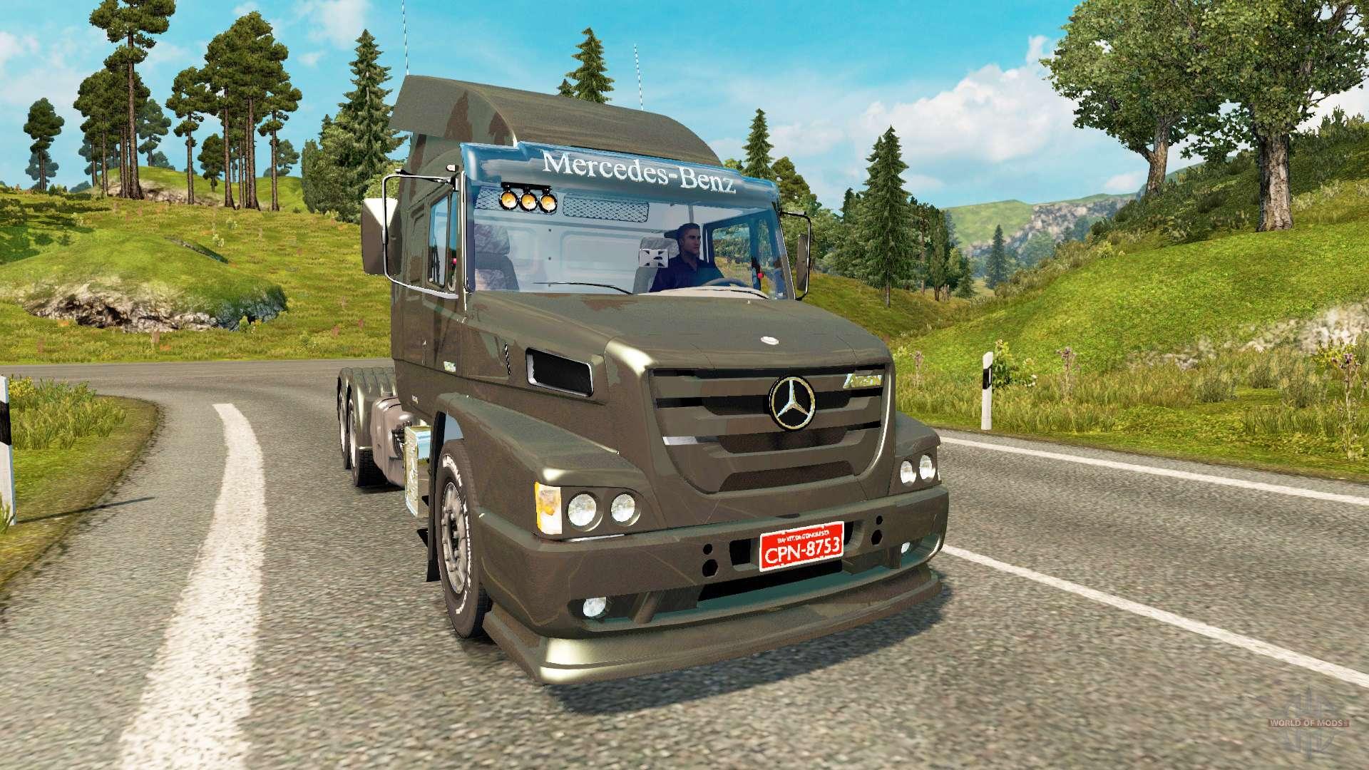 Mercedes benz atron 1635 para euro truck simulator 2 for Mercedes benz euro