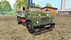 GAZ 53 verde