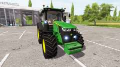 John Deere 7290R v1.2 para Farming Simulator 2017