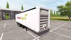 Semitrailer Danish Agro para Farming Simulator 2017