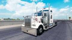 La piel de Alabama en el camión Kenworth W900