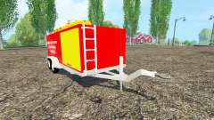 Multi-purpose trailer para Farming Simulator 2015