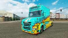 La piel McKays por Vince tractor Scania T