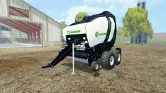 Krone Comprima V180 XC black v1.1 para Farming Simulator 2015