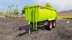 CLAAS tipper trailer