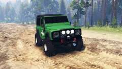 Land Rover Defender para Spin Tires