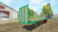 Aguas-Tenias platform trailer para Farming Simulator 2015