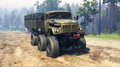 ZIL 131 Mongo para Spin Tires