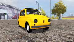 Fiat 500 (110) para Farming Simulator 2013