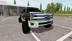 Chevrolet Silverado 2500 HD para Farming Simulator 2017