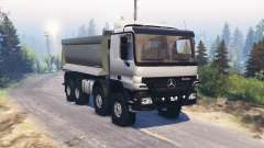 Mercedes-Benz Actros (MP2) 8x8 v1.1