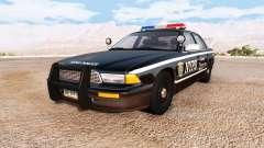 Gavril Grand Marshall NYPD v2.0 para BeamNG Drive