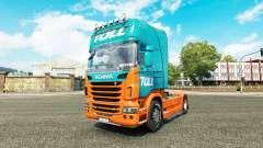 Peaje de la piel para Scania camión